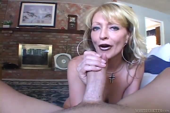 Blue Eyed Blonde Blowjob