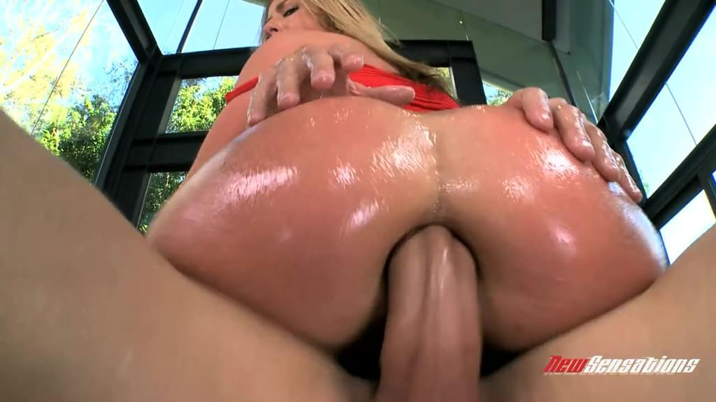 Sheena Shaw Has Her Ass Oiled Up And Stuffed With Cock Fakehub 1