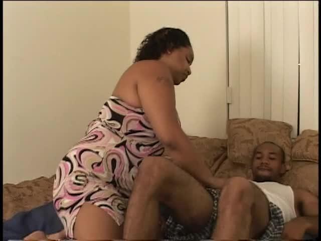 Big Black Bouncing Tits