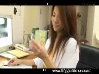 Asian doctor handjob