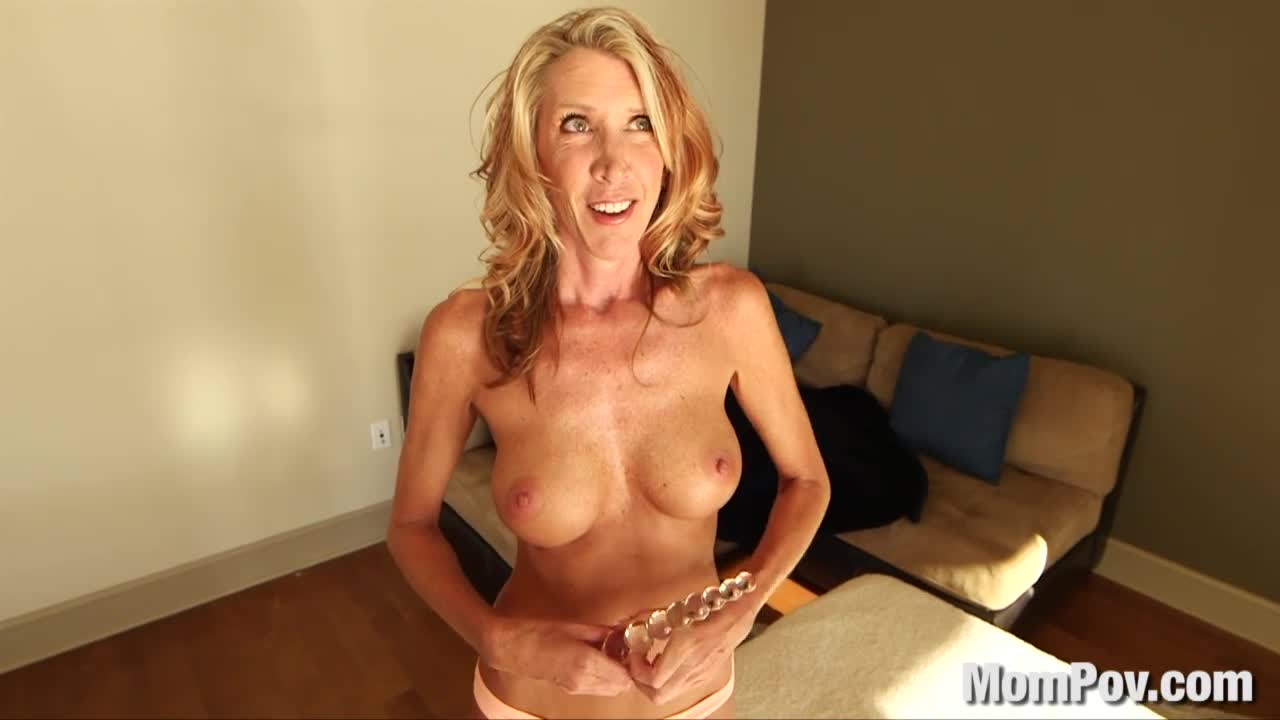 Hot Blonde Milf Handjob