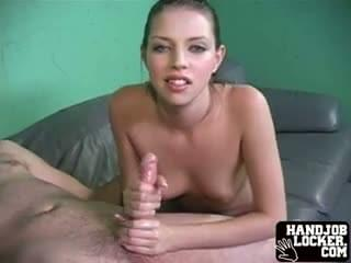 Remarkable, rather and he wife until handjob cums tonguejob gives absolutely