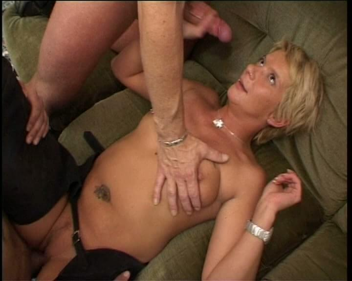 Mature Blonde Reverse Cowgirl