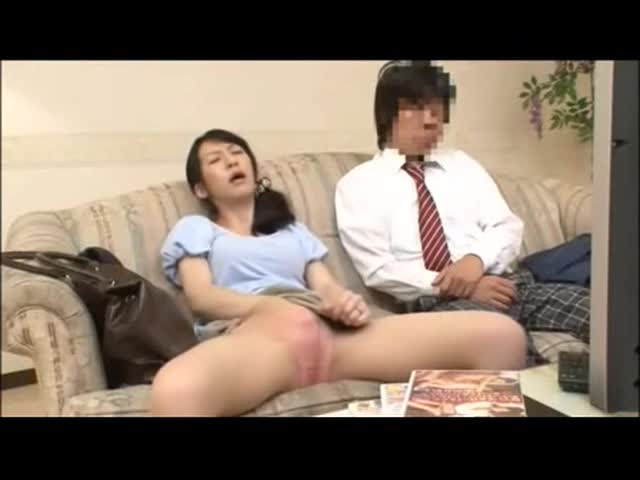 Japanese Son Talking Mom