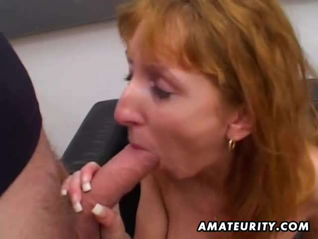 Real Amateur Milf Facial