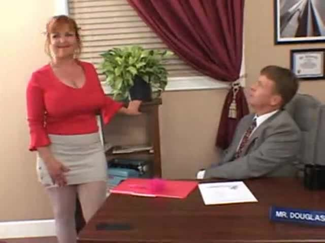 Big Tit Redhead Secretary