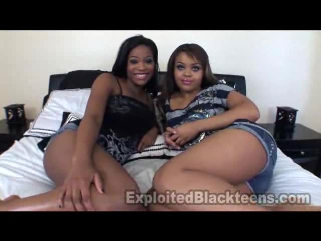 Black Teen Homemade Threesome
